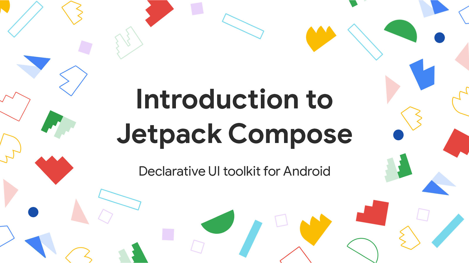 [I/O Extended 2019 Pangyo] Introduction to Jetpack Compose