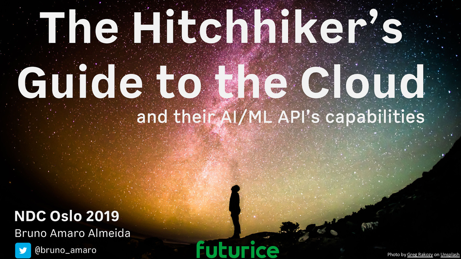 The Hitchhiker's Guide to the Cloud (AWS vs GCP vs Azure) and their AI/ML API's capabilities