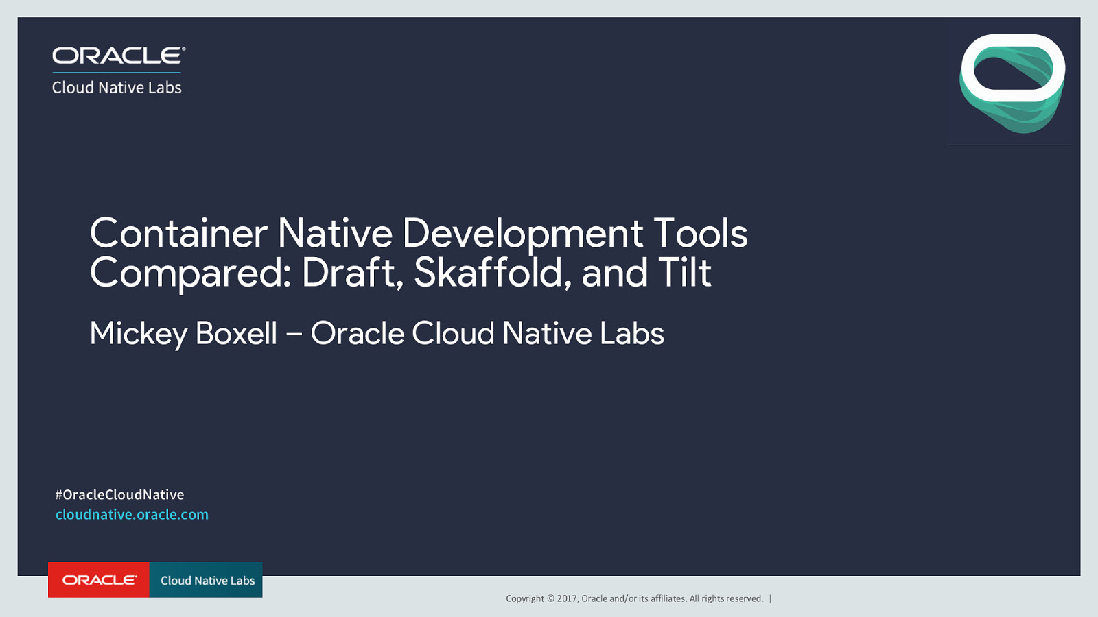 Container Native Development Tools