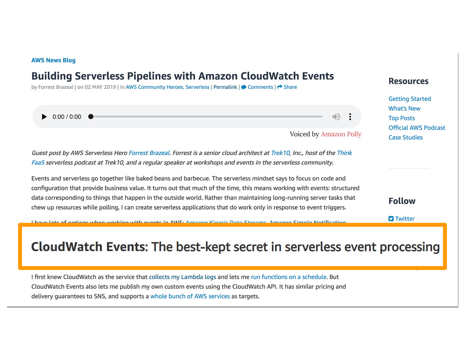 How AWS Builds Serverless Services Using Serverless - Introducing