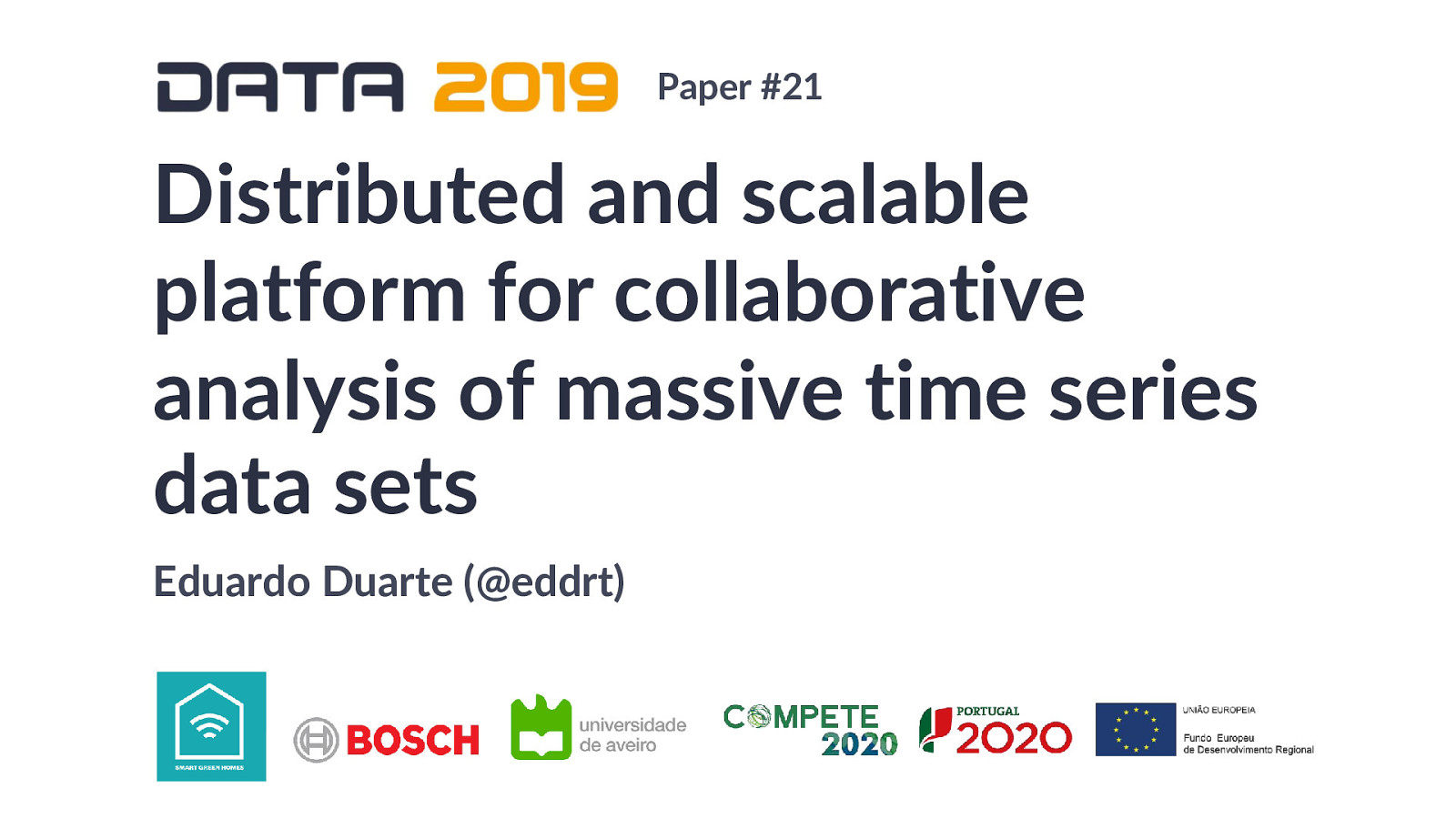Distributed and scalable platform for collaborative analysis of massive time series data sets