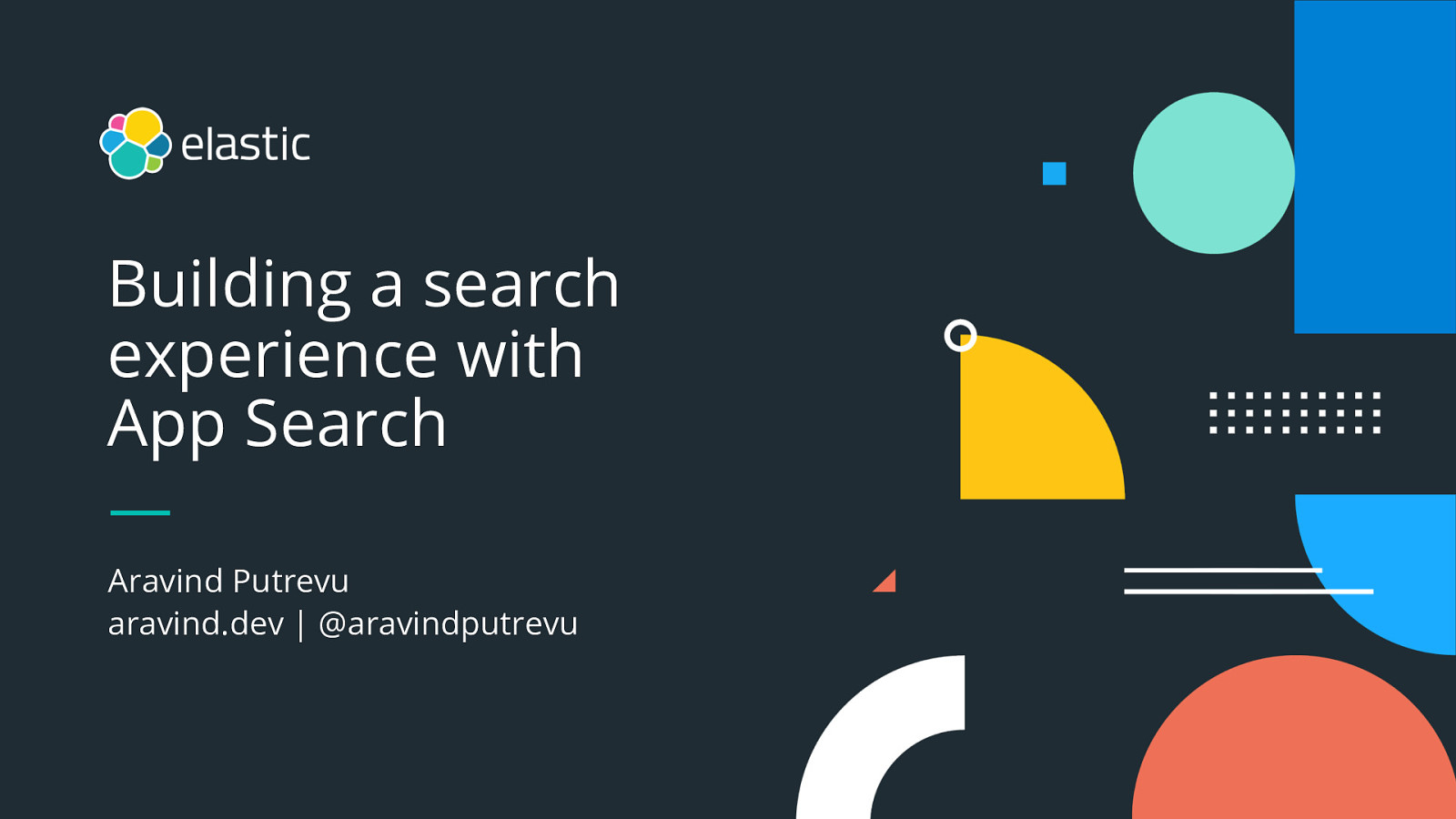 Building a live search experience using Elastic App Search