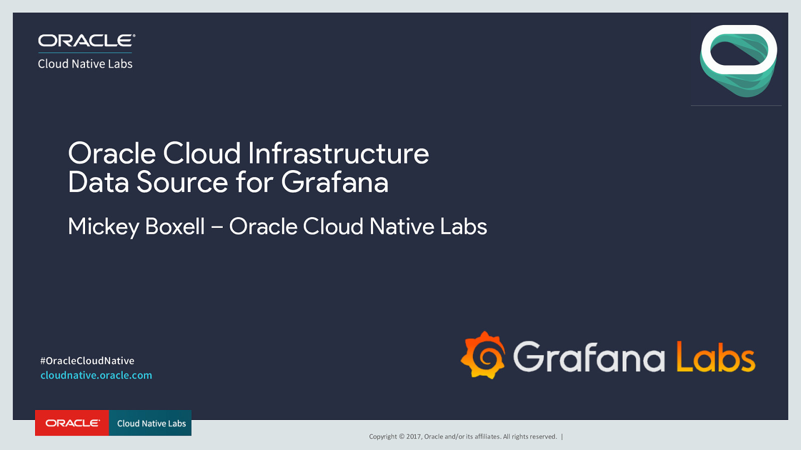 Utilizing the Oracle Cloud Data Source for Grafana