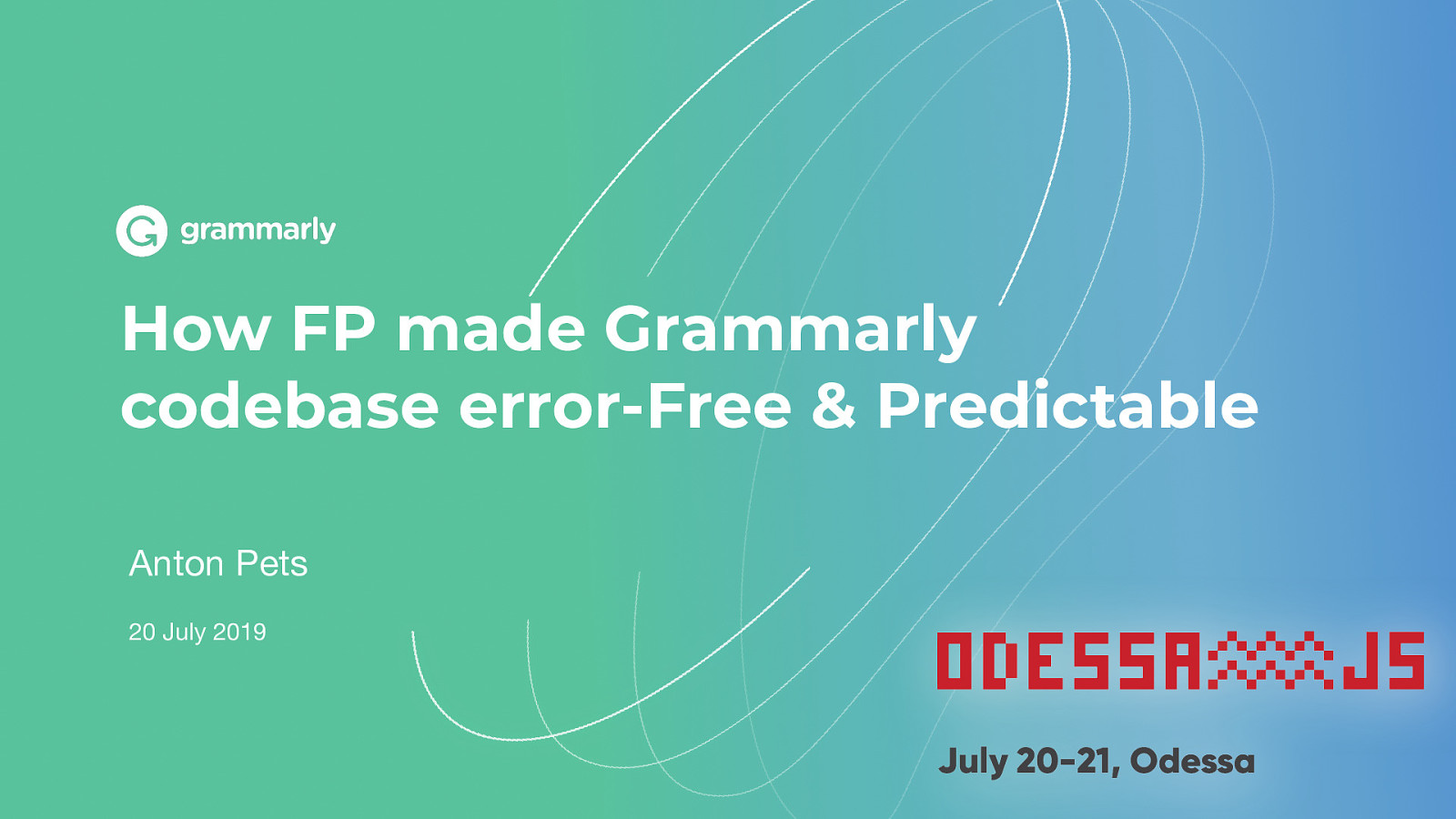 How FP made Grammarly codebase error-Free & Predictable