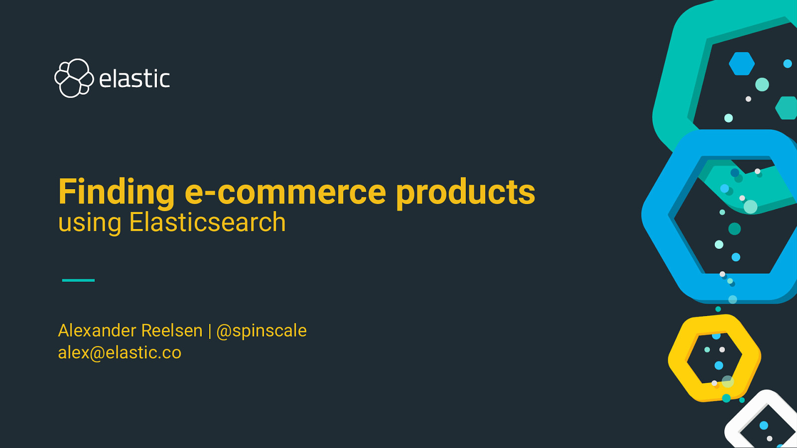 Implementing an ecommerce product search