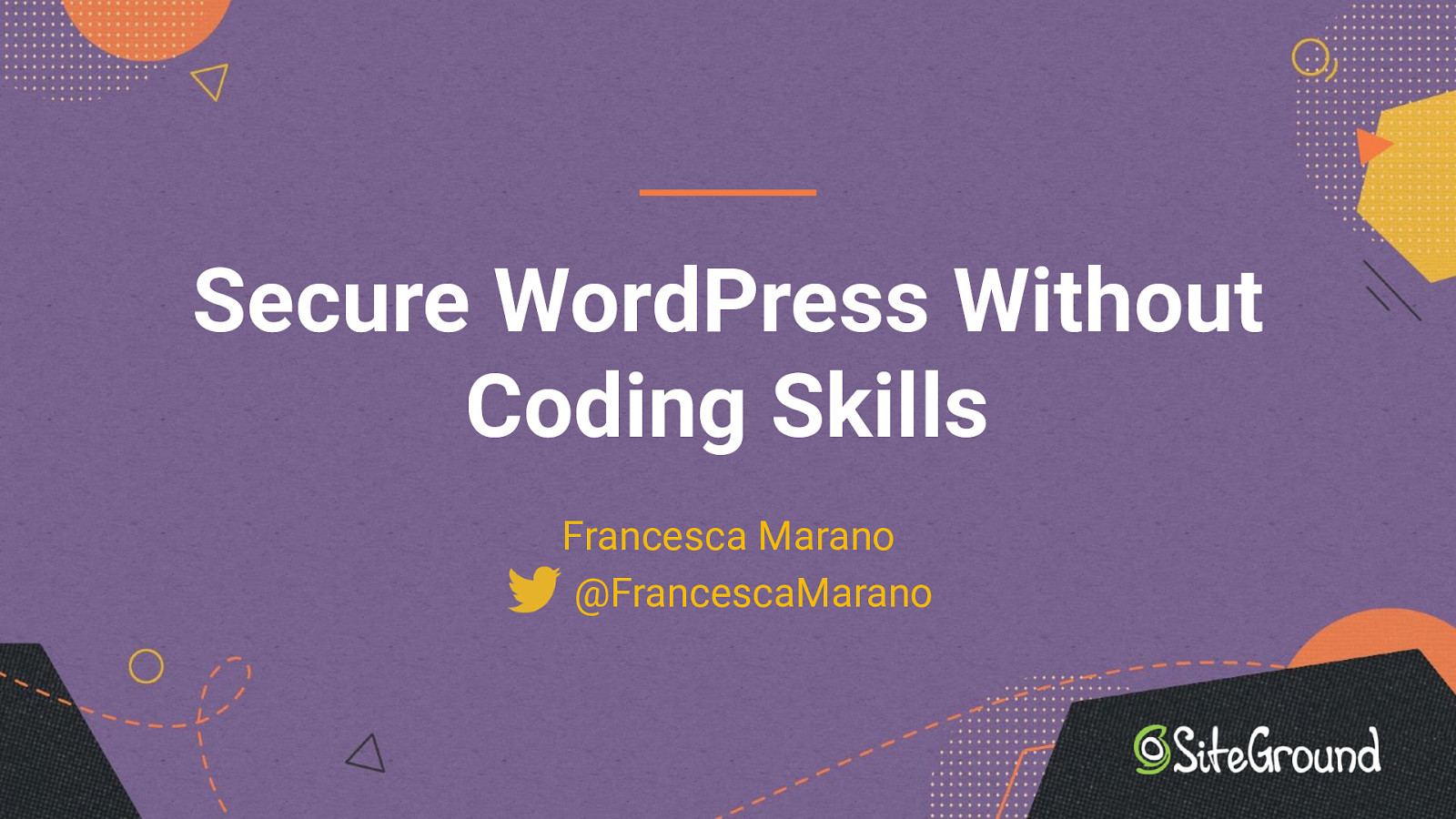 Secure WordPress Without Coding Skills