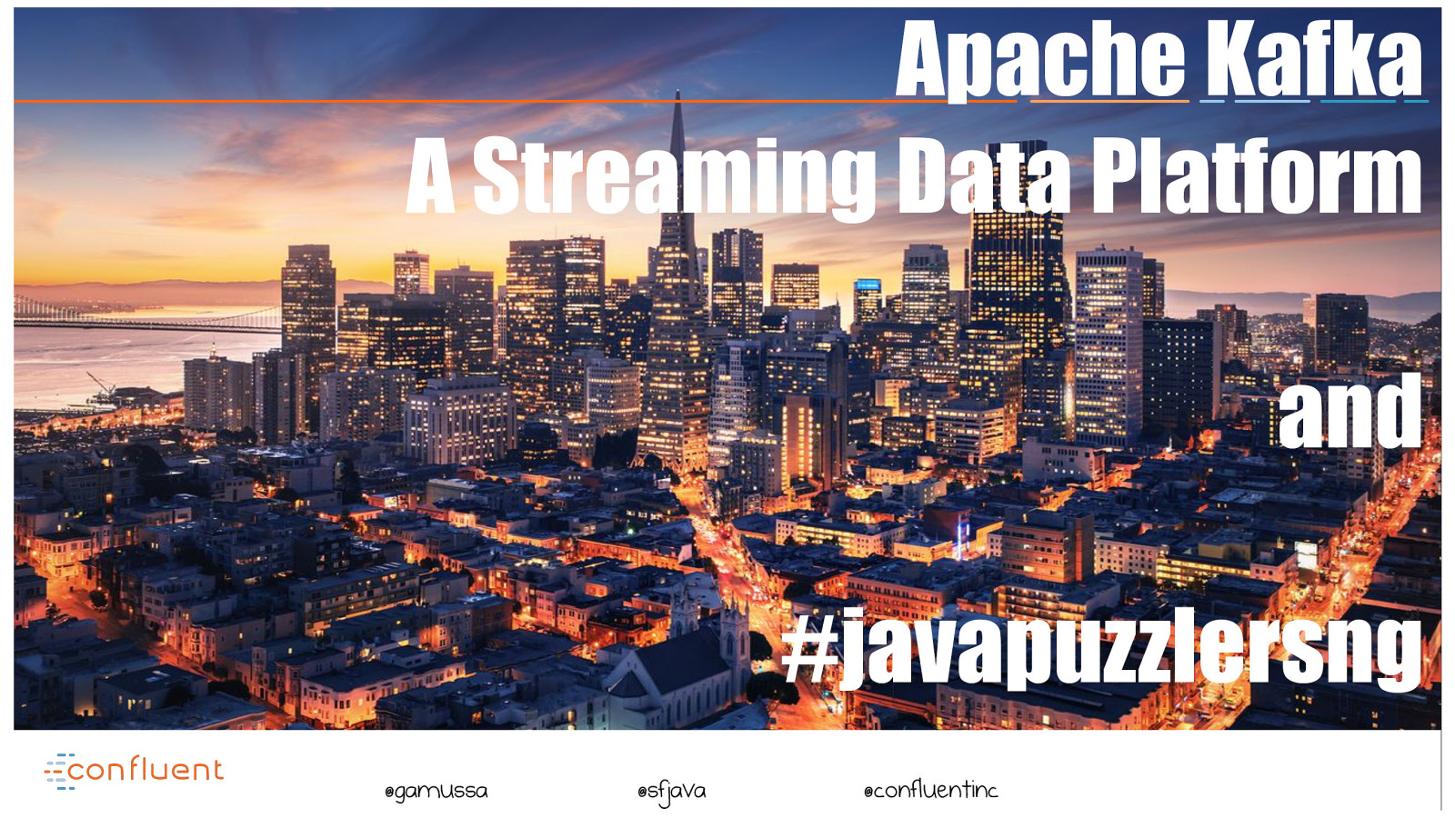 Apache Kafka — A Streaming Data Platform
