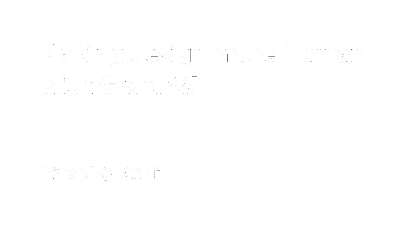 Making design more human with GraphQL