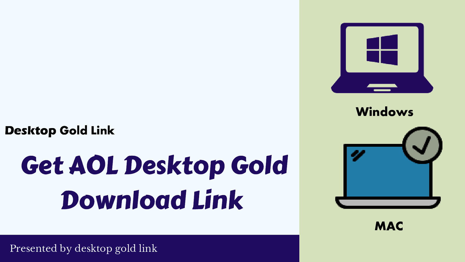 Download AOL Desktop Gold Windows/MAC | 888-616-4869