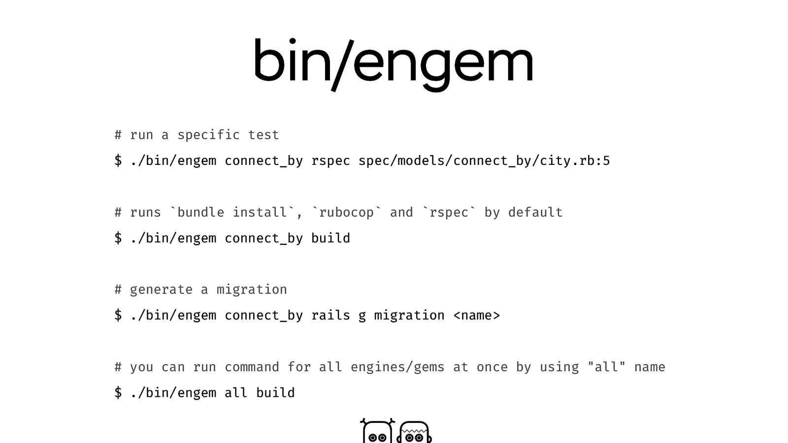 Engine-ering Rails apps