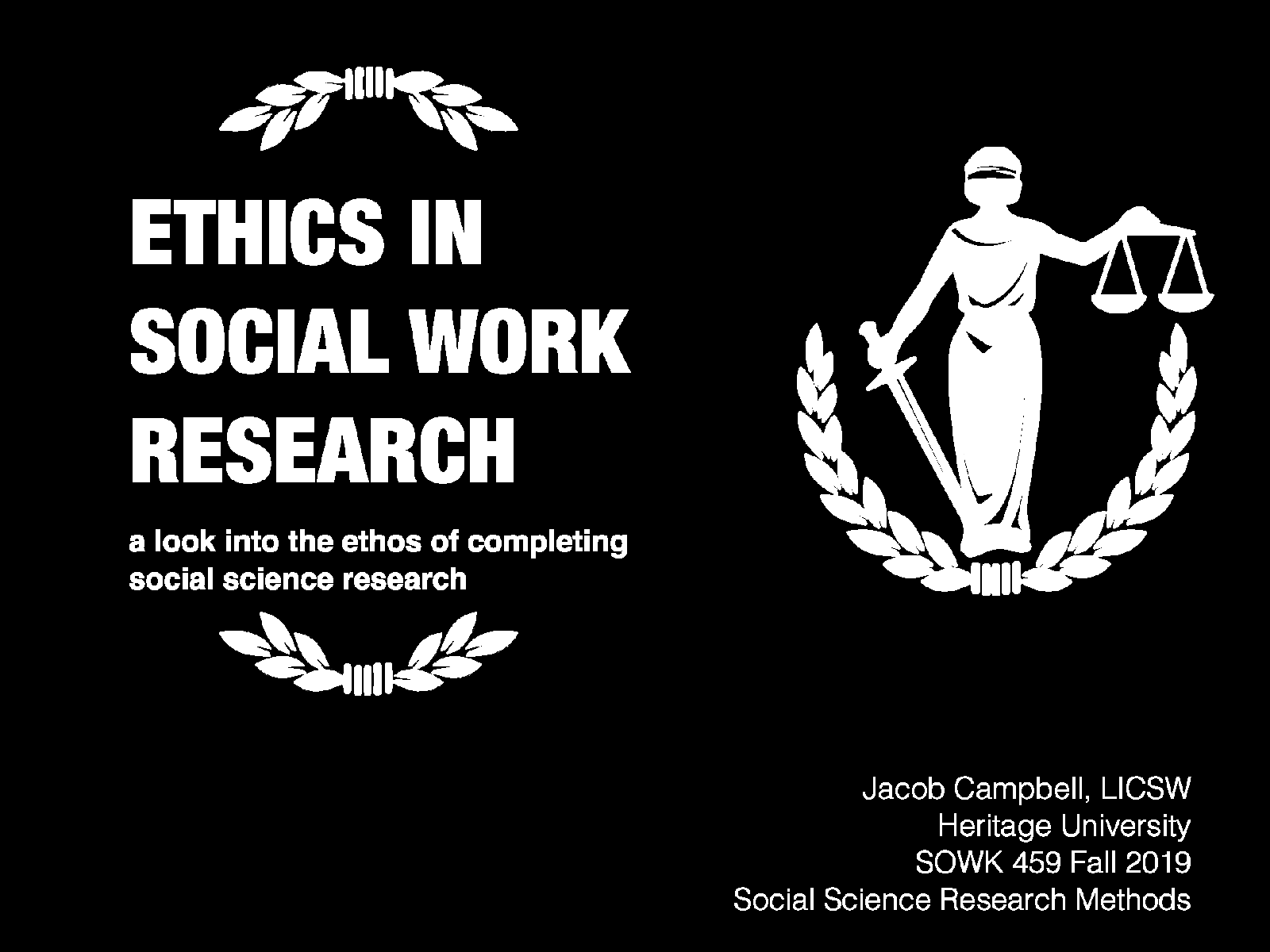 Week 03 - Ethics in Social Work Research