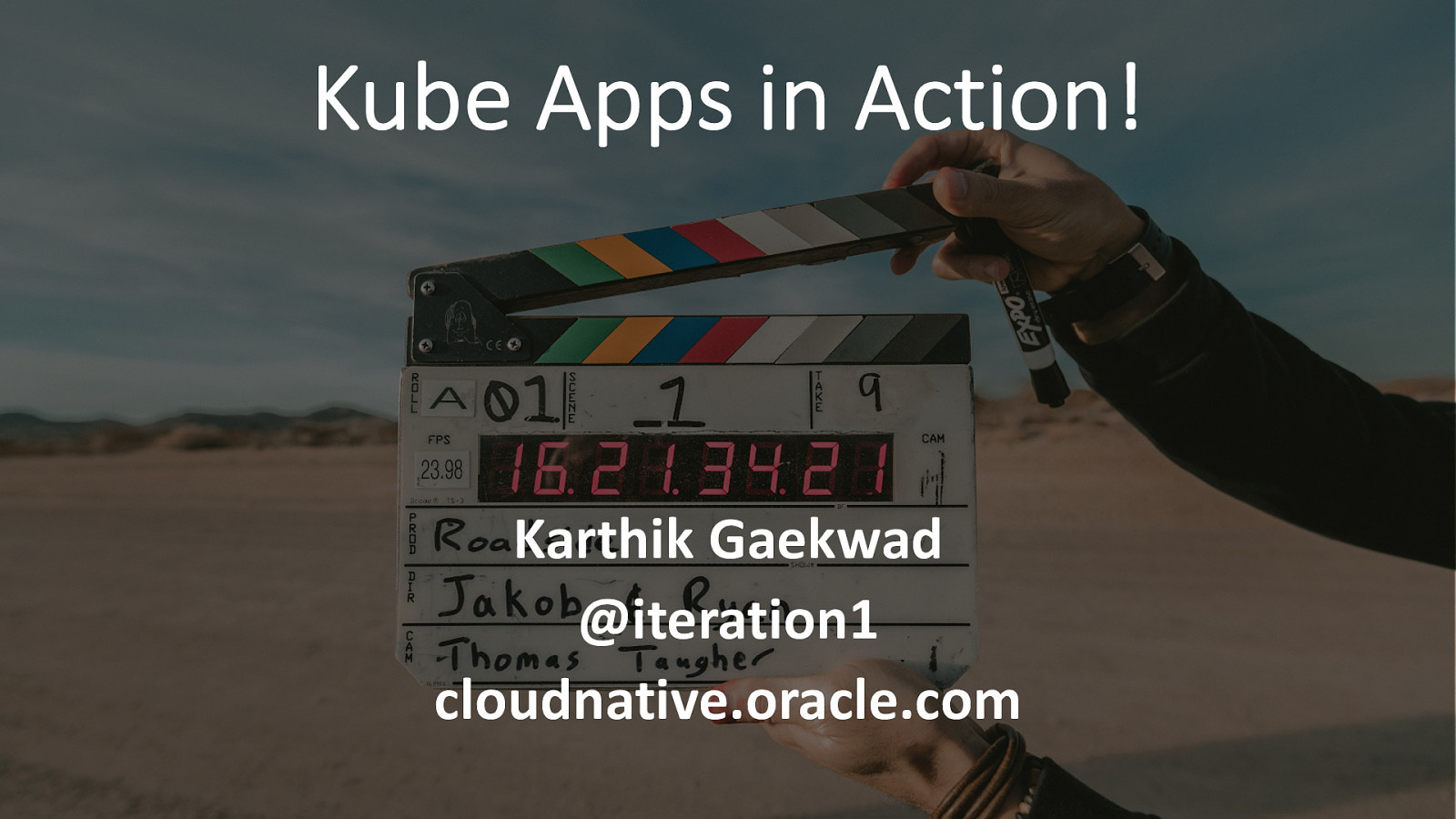 Kube Apps in action
