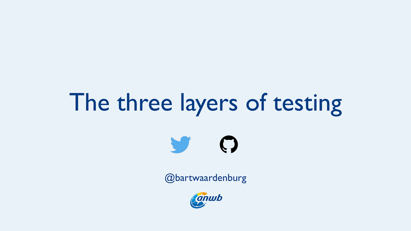 React and the Three Layers of Testing