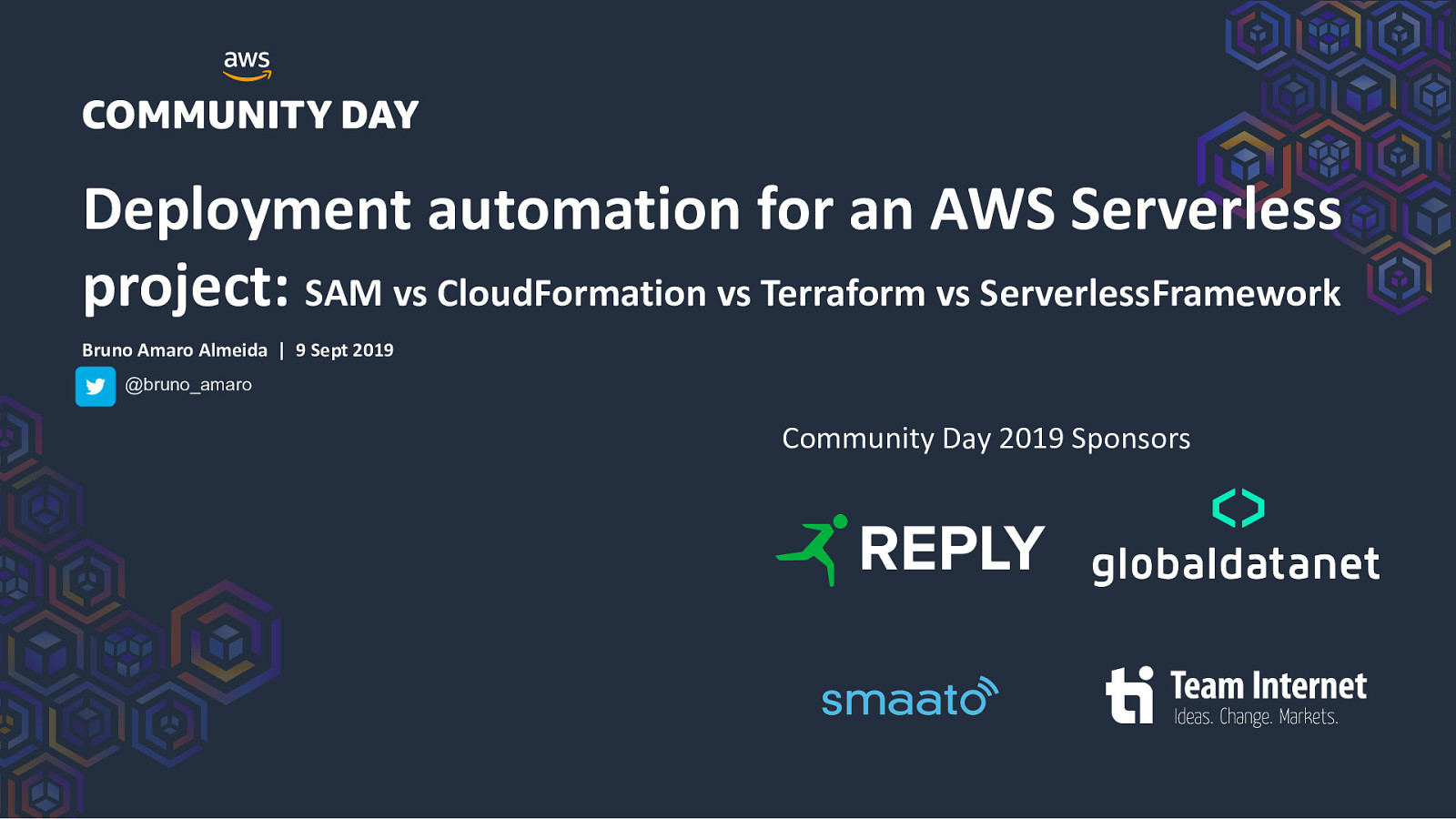 Deployment automation for an AWS Serverless project