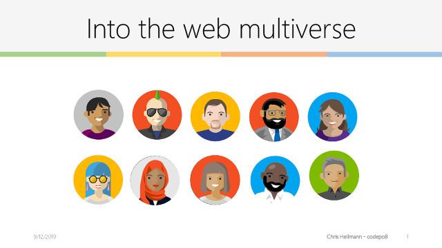 Into the Web Multiverse