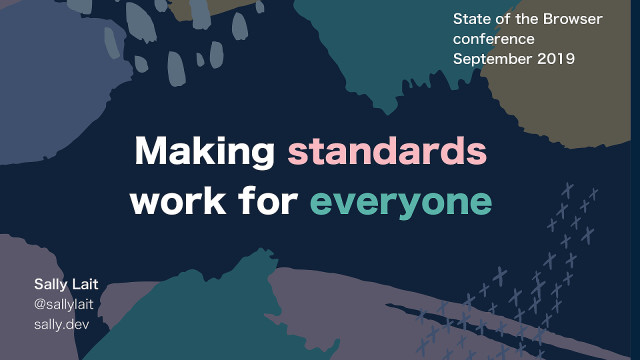 Making standards work for everyone