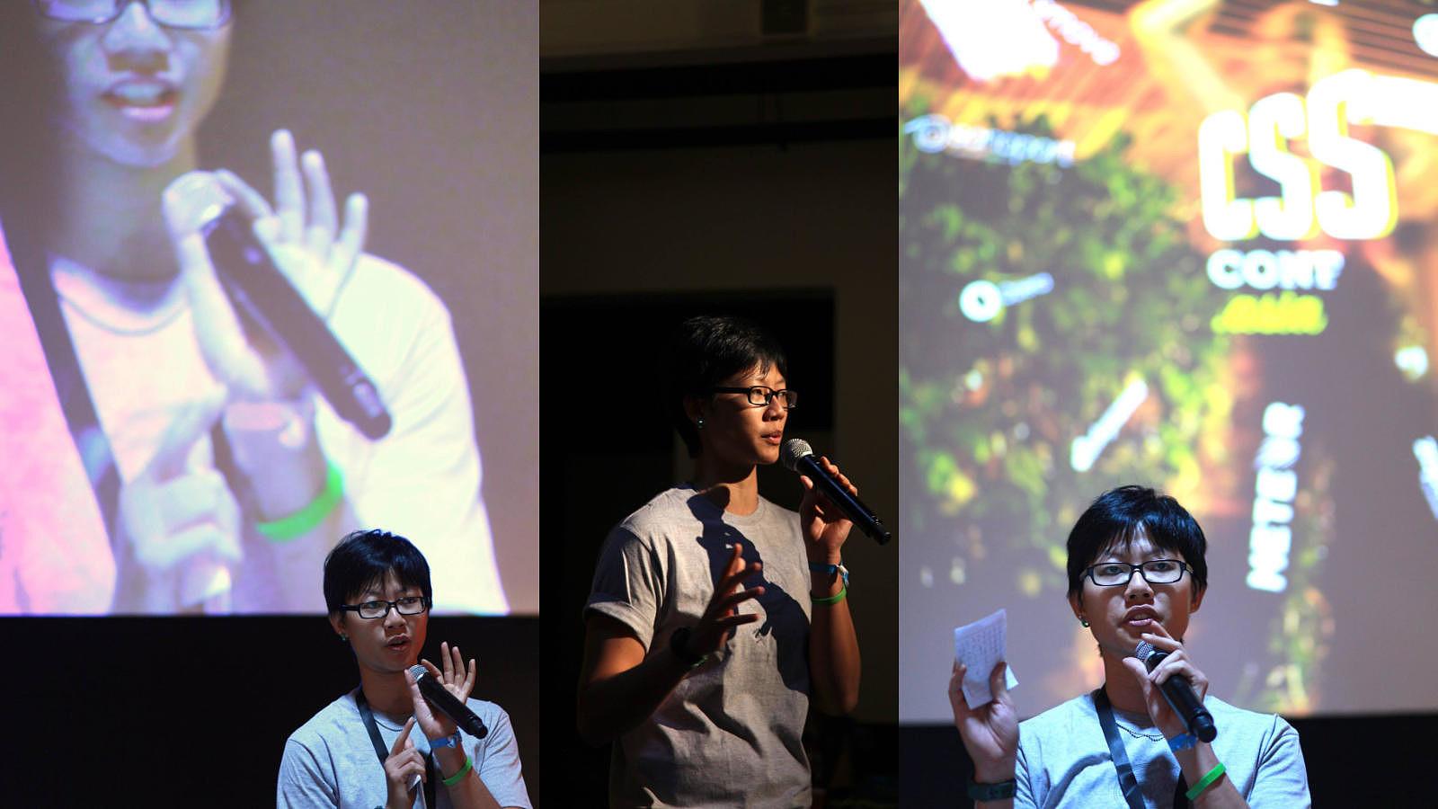 MC for CSSConf.Asia 2015