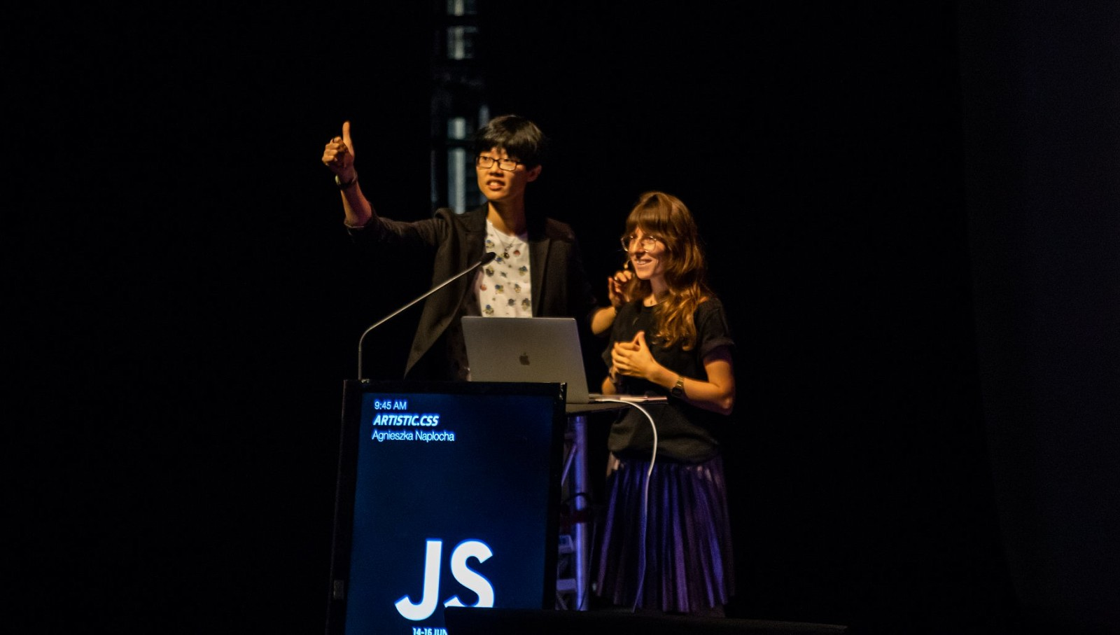MC for Day 1 of JSConf.Asia 2019