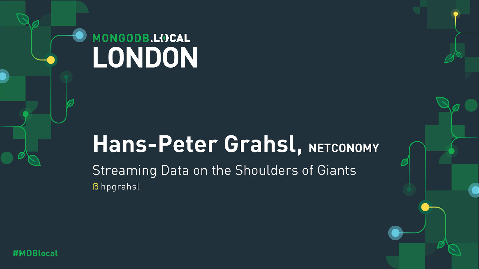 Streaming Data on the Shoulders of Giants