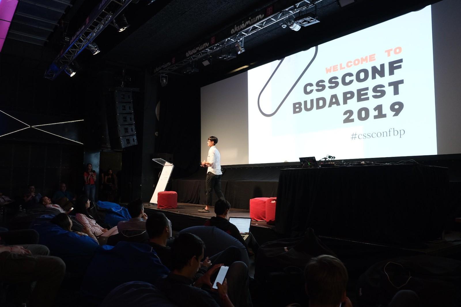 MC for CSSConf Budapest 2019