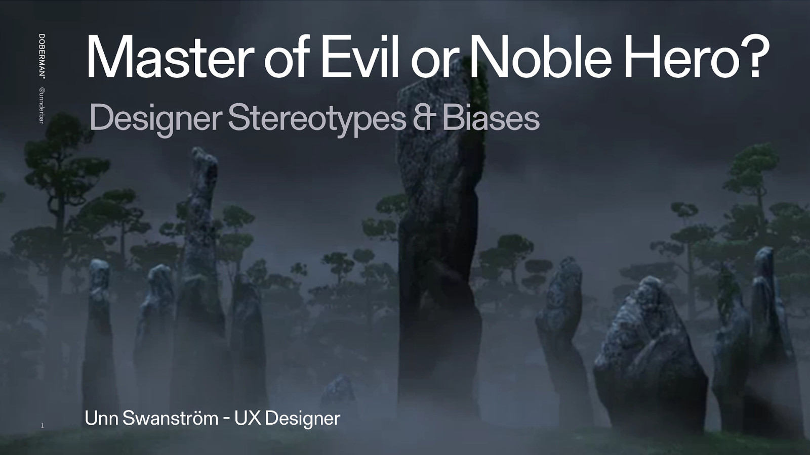 Master of Evil or Noble Hero? - Designer stereotypes and biases