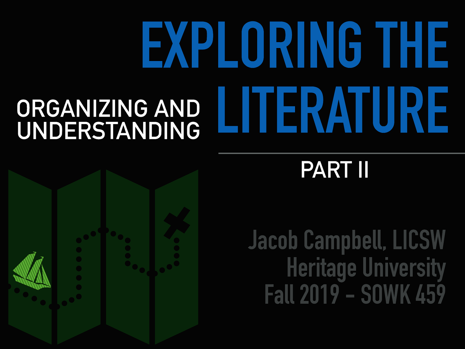 Week 07 - Exploring the Literature Part II - Organizing and Understanding