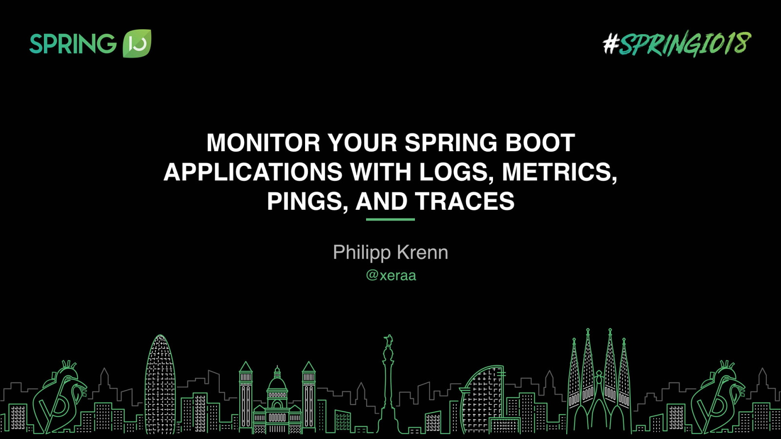 Monitor Your Spring Boot Application with Logs, Metrics, Pings, and Traces (Workshop)