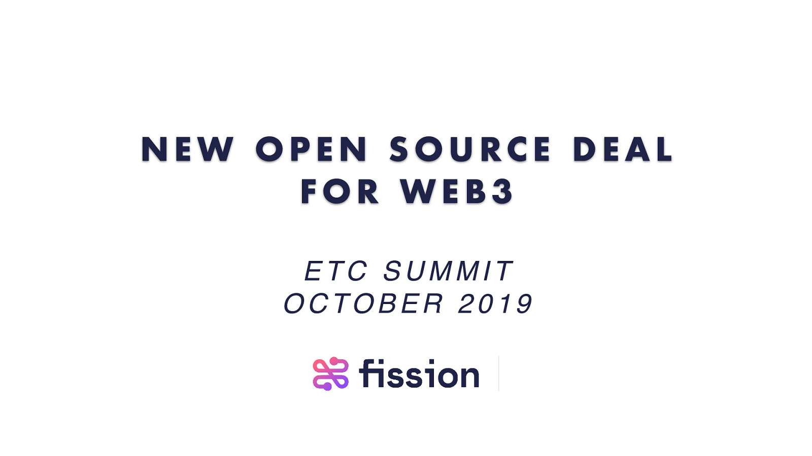 A new open source deal for Web3