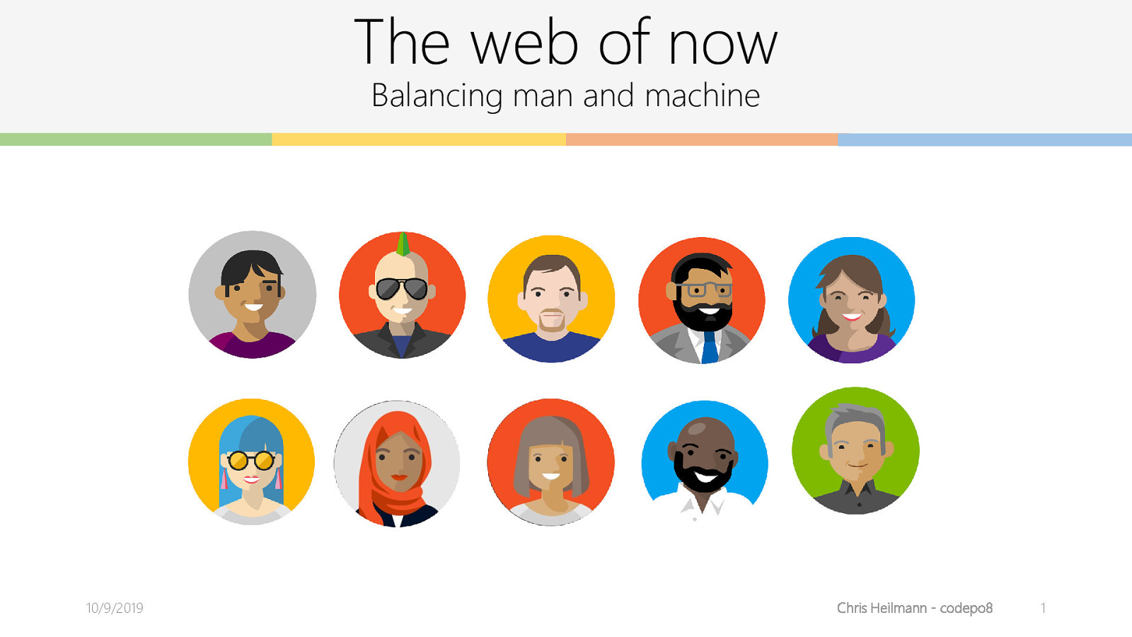 The web of now - Balancing man and machine