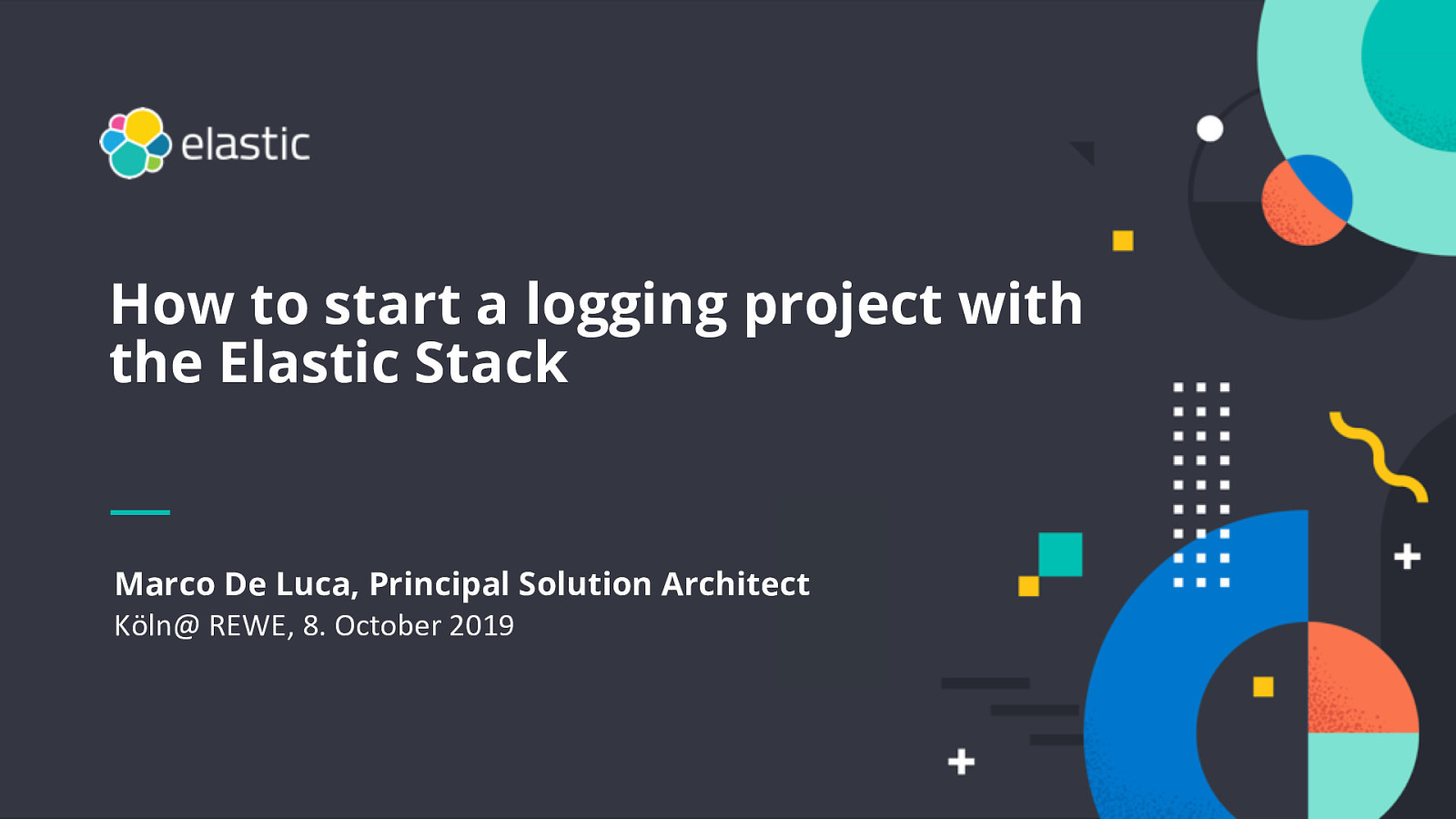 How to start a logging project