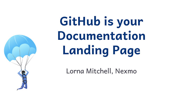 GitHub is Your Landing Page