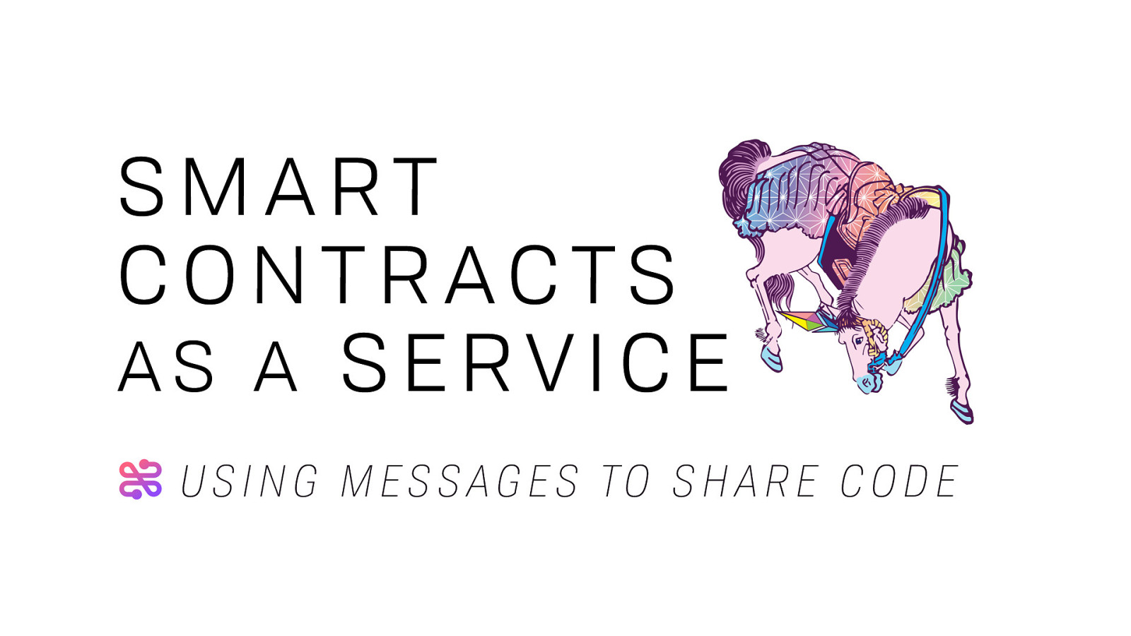 Smart Contract as a Service: Using Messages to Share Contracts