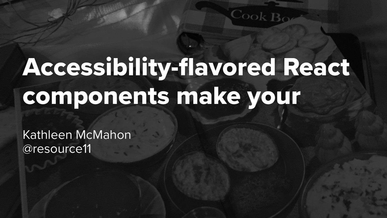 Accessibility-flavored React components make your design system delicious!