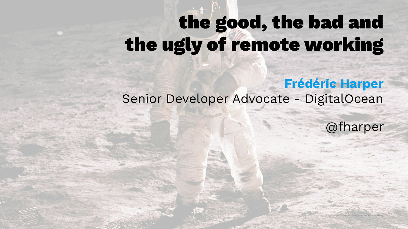 The Good, the Bad and the Ugly of Remote Working