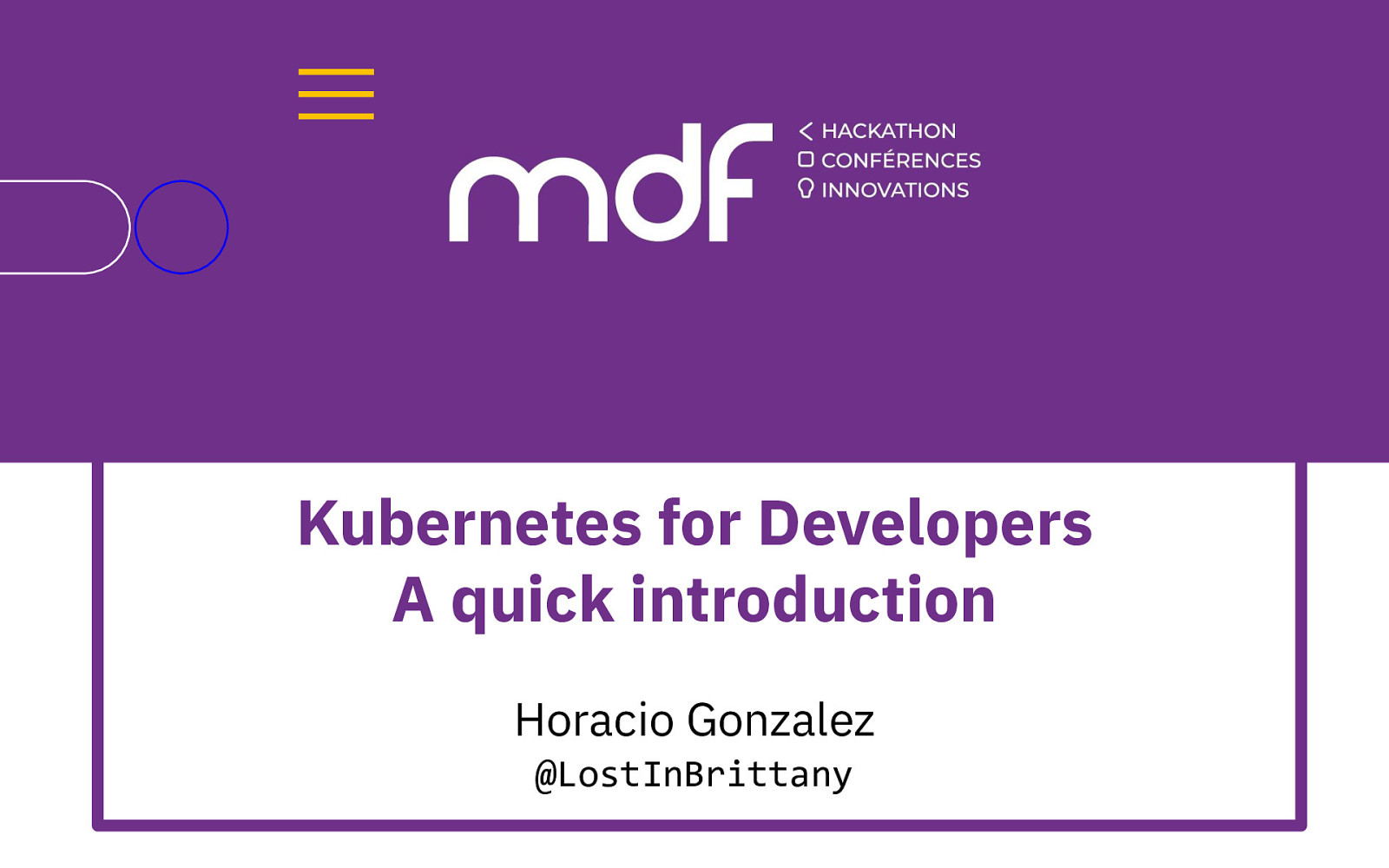 Kubernetes for Developers - A quick introduction