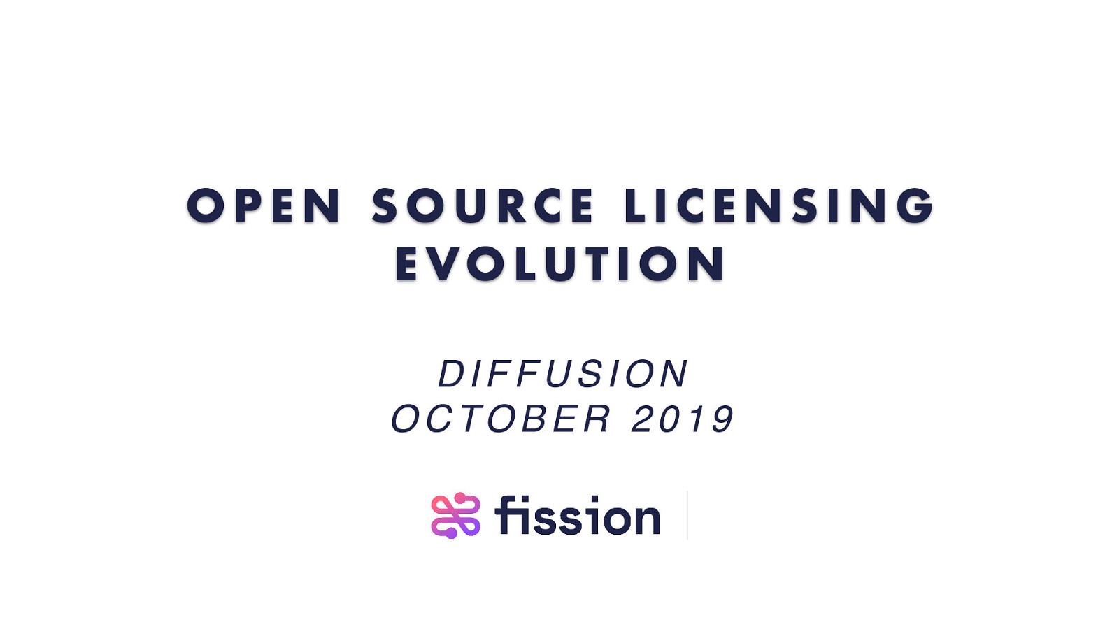 Open Source Licensing Evolution