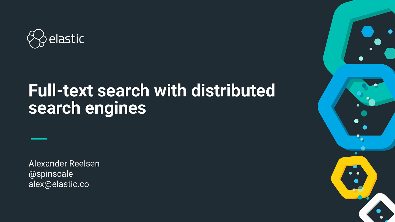 Introduction into full-text search with distributed search engines
