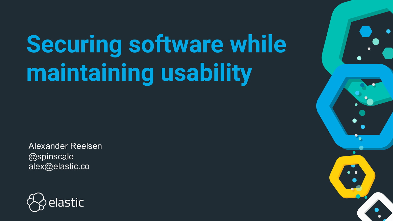 Securing software while maintaining usability