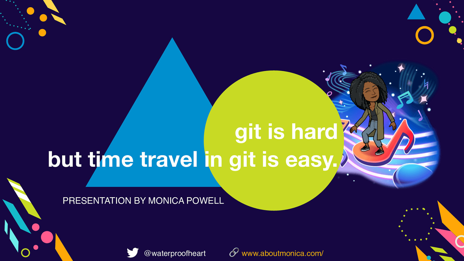 git is hard, but time travel in git is easy