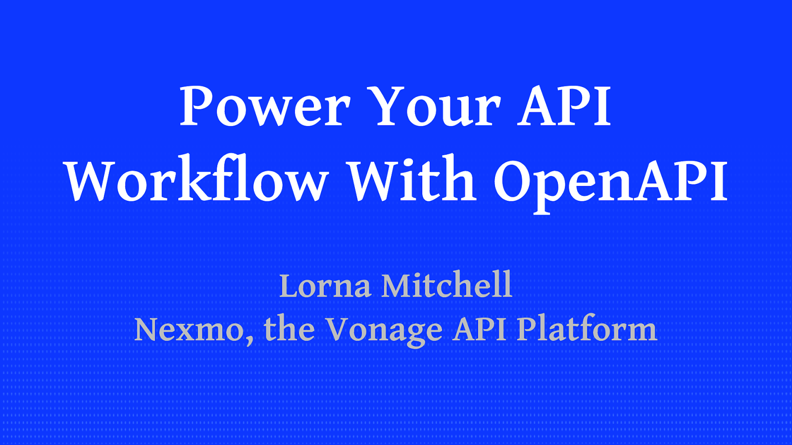Power Your API Workflow With OpenAPI
