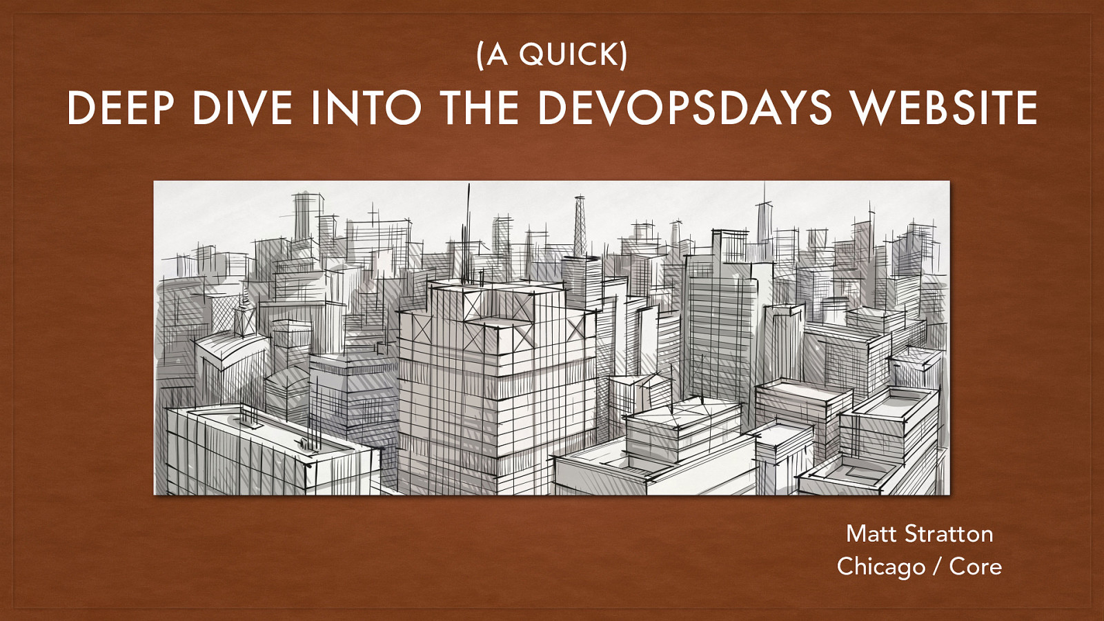 A (Quick) Deep Dive Into The DevOpsDays Website