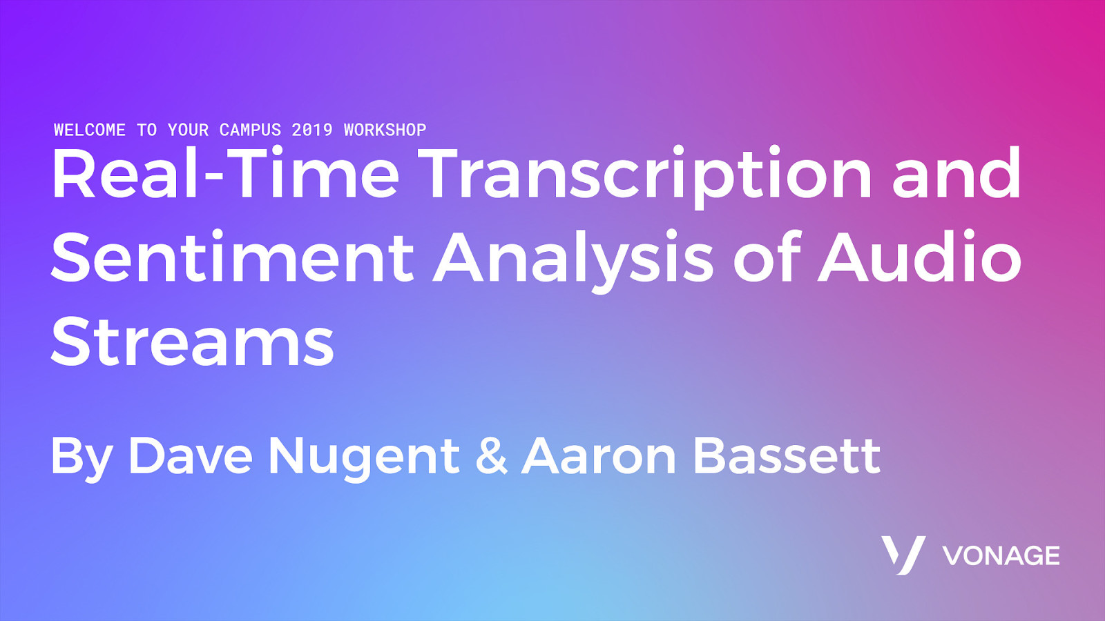 Real-Time Transcription and Sentiment Analysis of Audio Streams