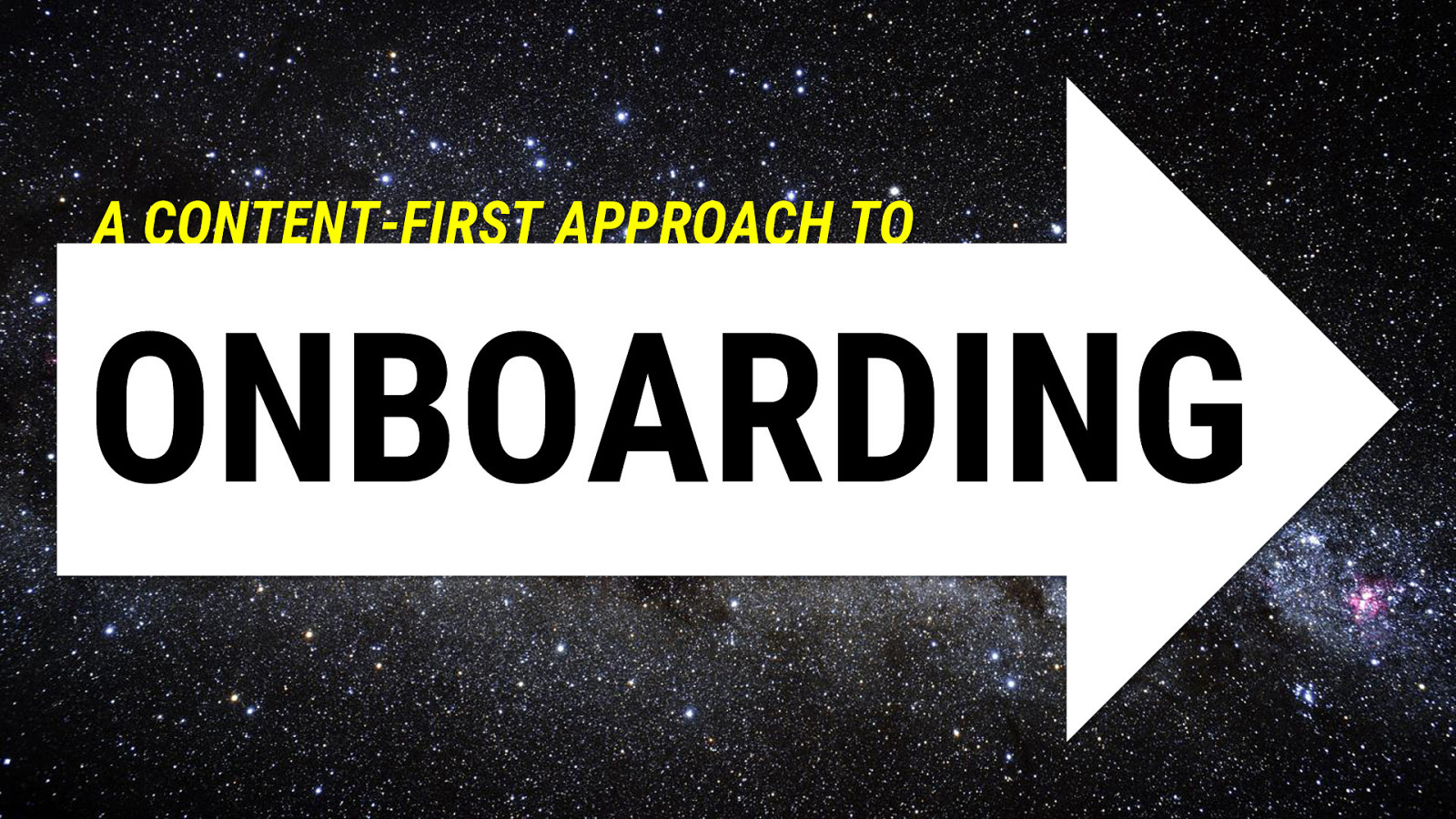 A Content-First Approach to Product Onboarding