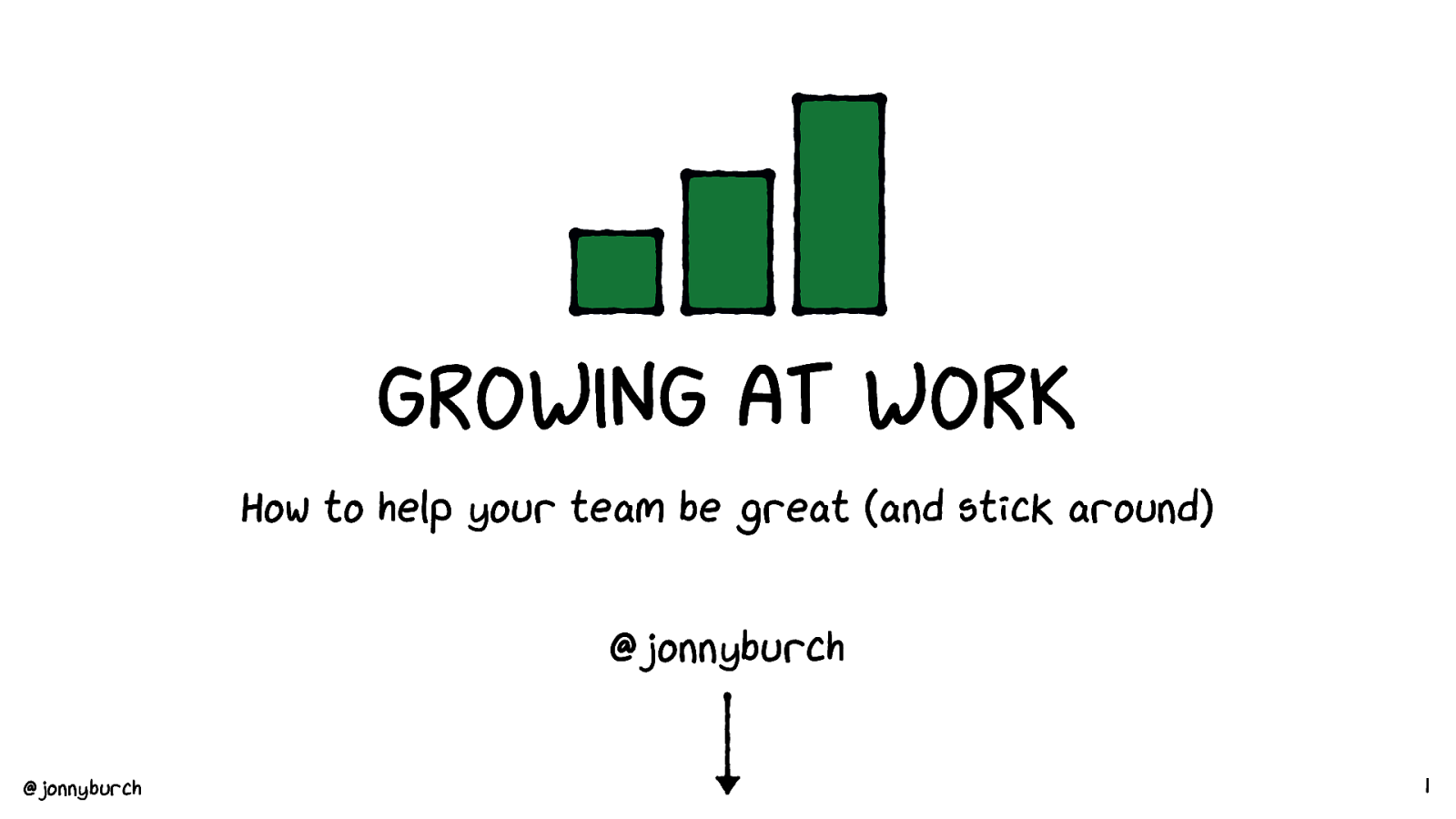 Growing at work: the importance of progression