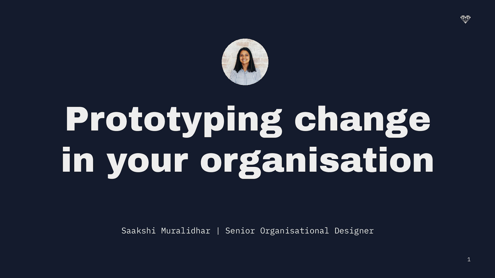 Prototyping Change in your Organisation