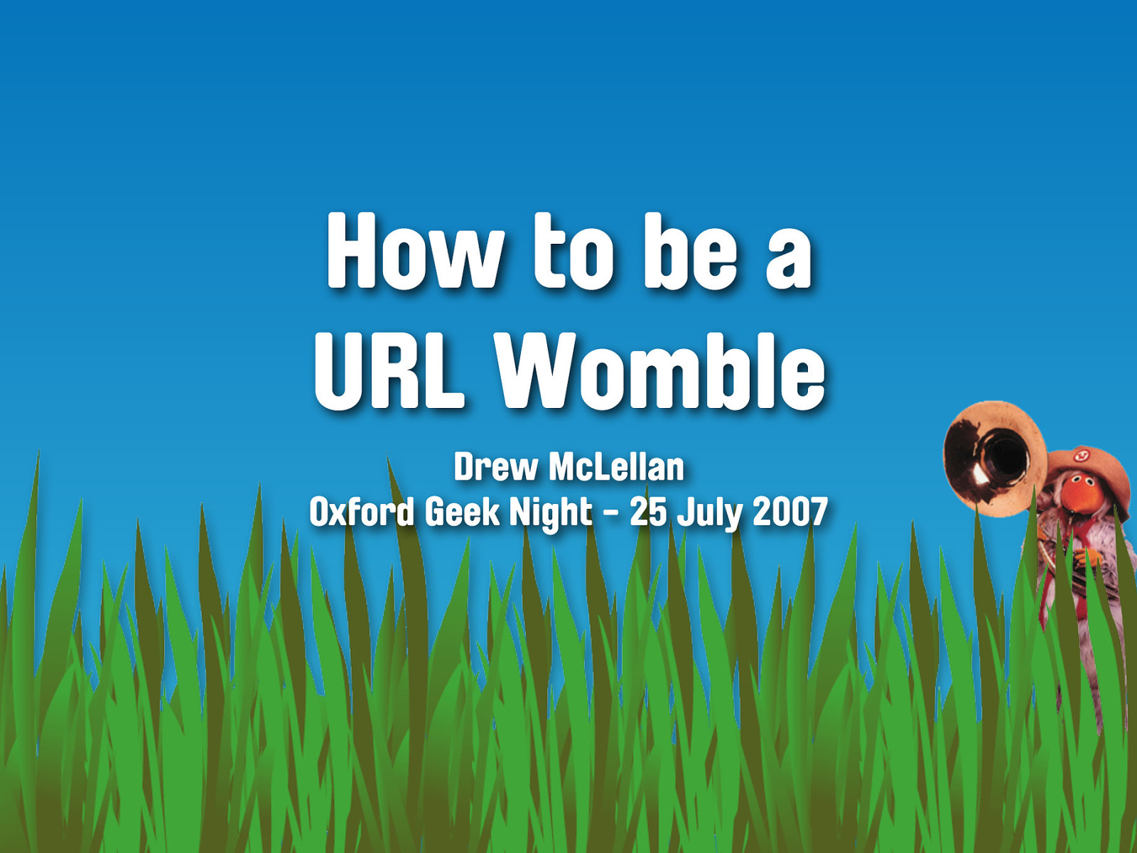 How to Be a URL Womble