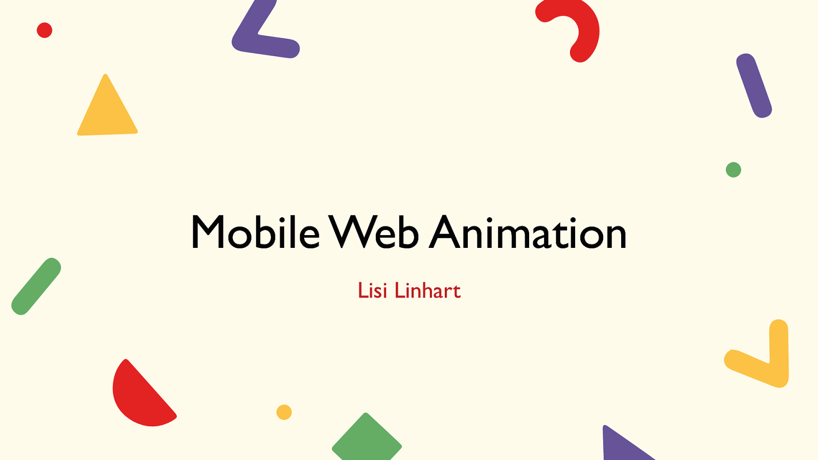 Mobile Web Animation