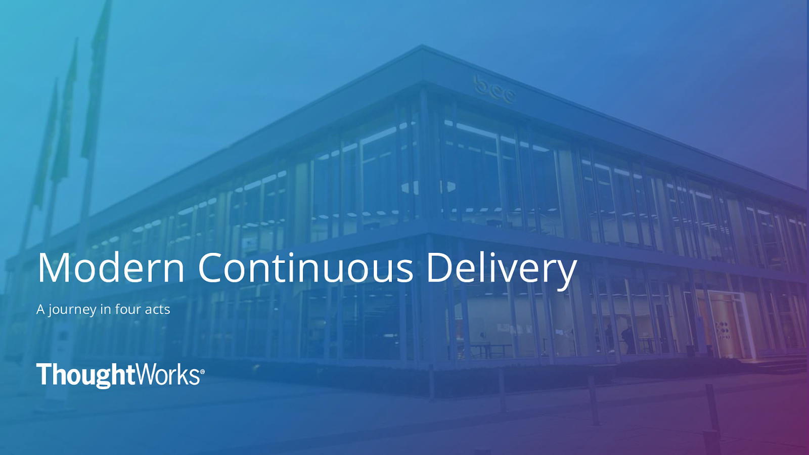 Modern Continuous Delivery