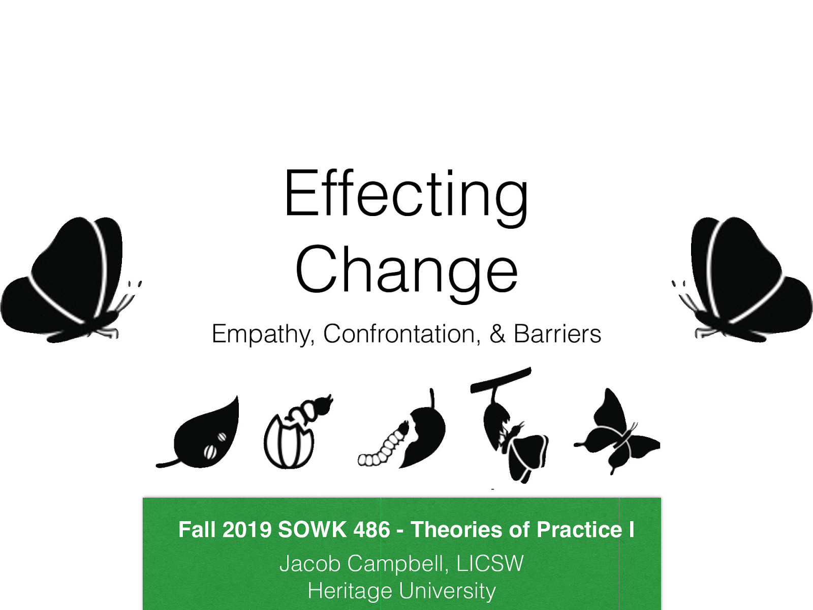 SOWK 486 Fall 2019 Planning: Class 12