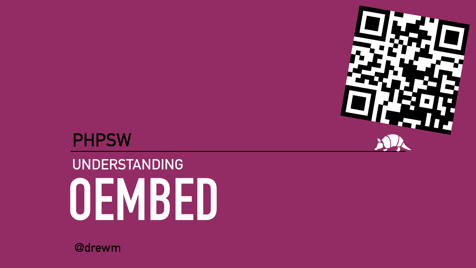 Understanding oEmbed